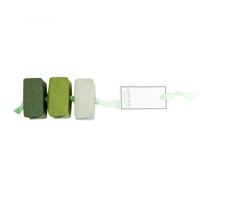 Argan Oil Soap Green-Soap 3 x 30 g on rope-ARG354-G