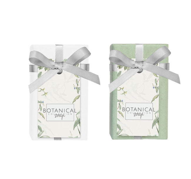 Botanical soap