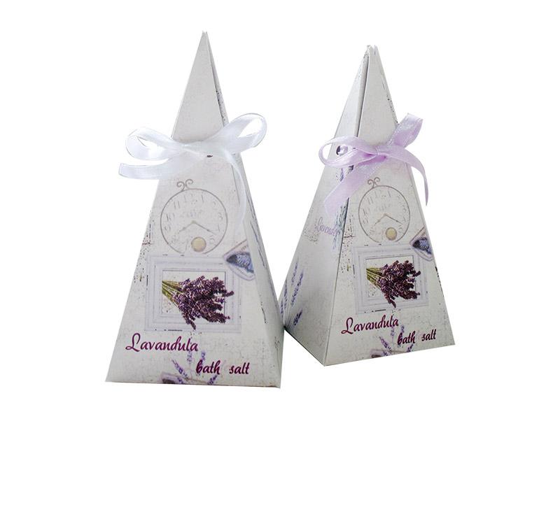 Lavandula-Bath salt piramide 100 g-LAW125