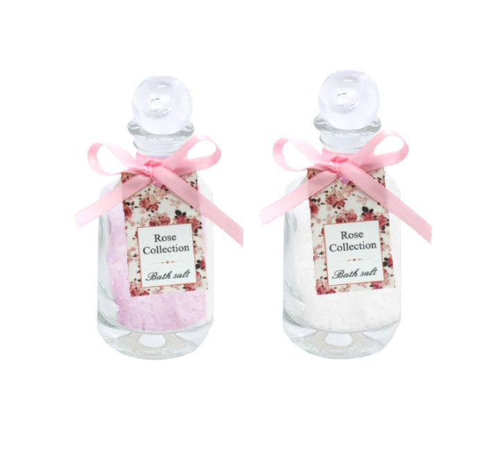 Rose-Collection-Bath-salt-in-square-glass-120-g-RSC115