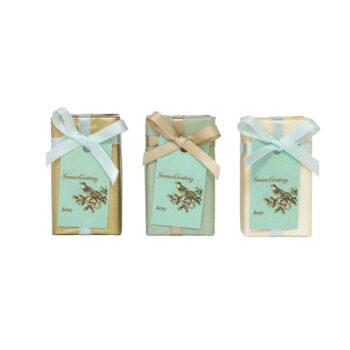 Season greetings soap bar